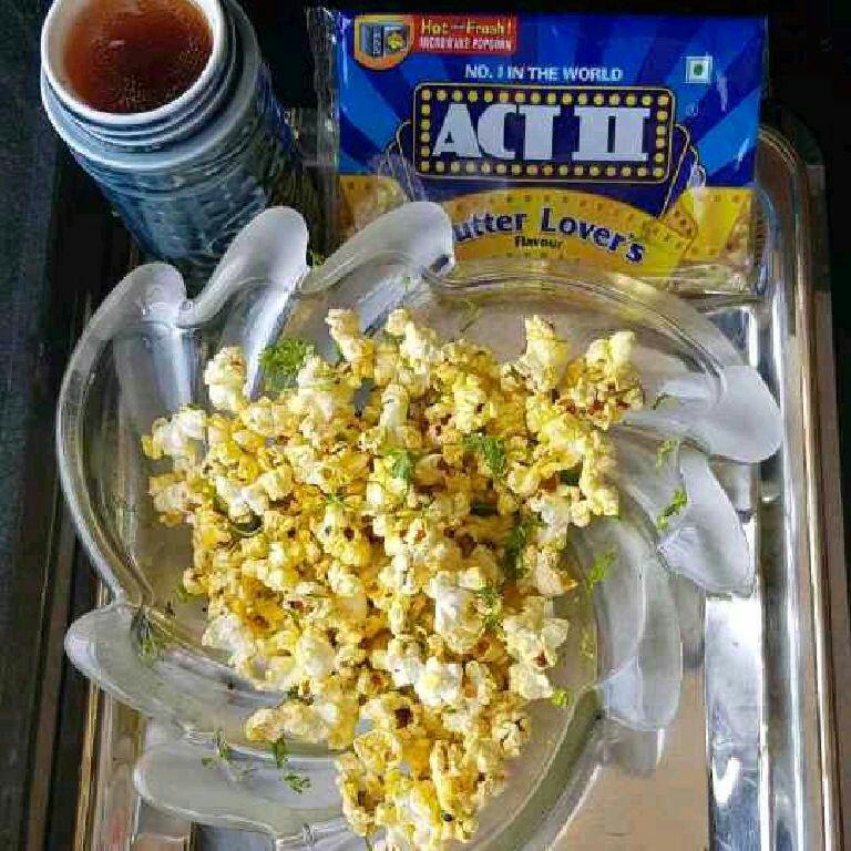 How to make Chilli Lemon Popcorn