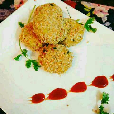 How to make Crispy Upma Cutlets