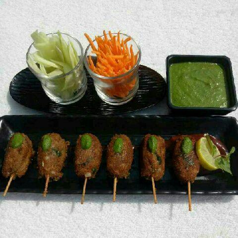 How to make Veg Soya Kebabs