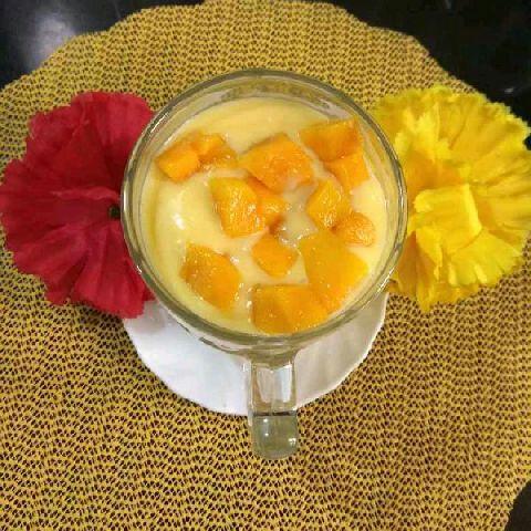Photo of Refreshing Mango Lassi by Richa Mehrotra at BetterButter