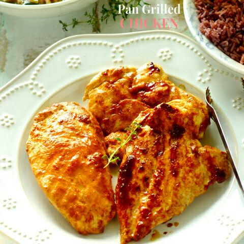 How to make Pan Grilled Chicken