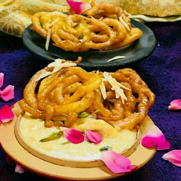 How to make Jalebi with Oats Rabdi