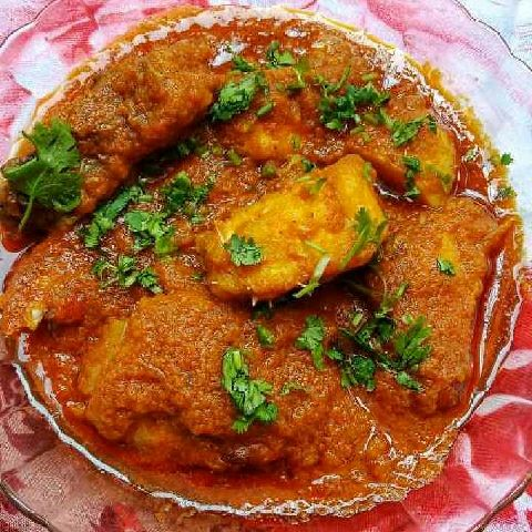 How to make Fish in Tomato Masala