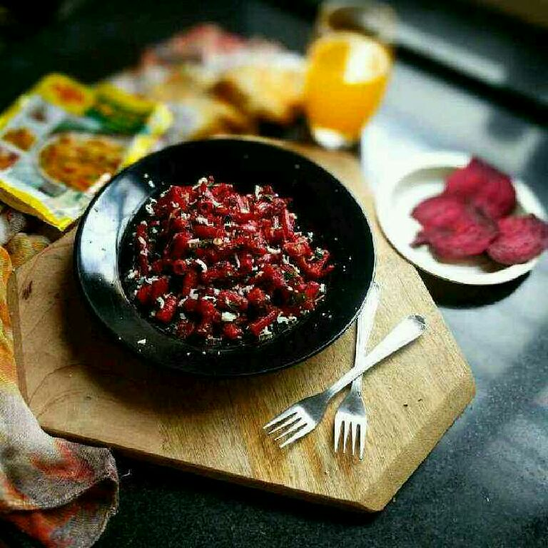How to make Maggi Beetroot Pazzta