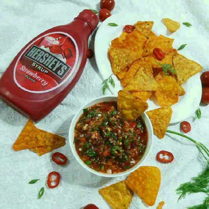 How to make Hersheys Sweet & Sour Salsa