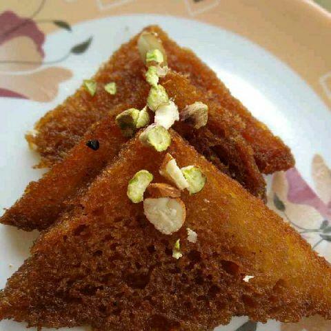 Photo of Bread Khaja by Tejaswi Yalamanchi at BetterButter