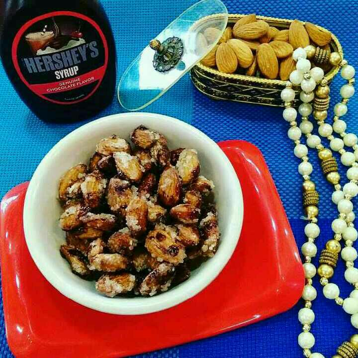 How to make Hersheys Chocolatey Almonds