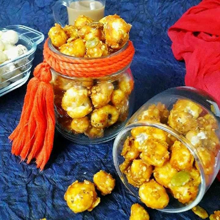 Photo of Caramel Makhana by Akum Raj Jamir at BetterButter
