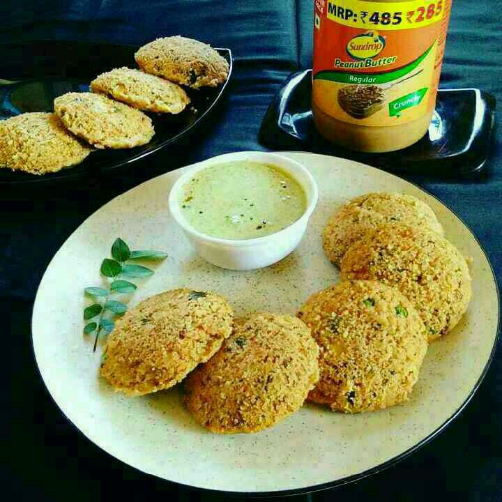 How to make Sundrop Peanut Butter Oats Idli