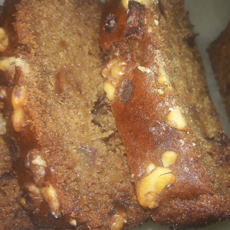 Photo of The date and walnut loaf (for diabetics) by Sonali Bisht at BetterButter