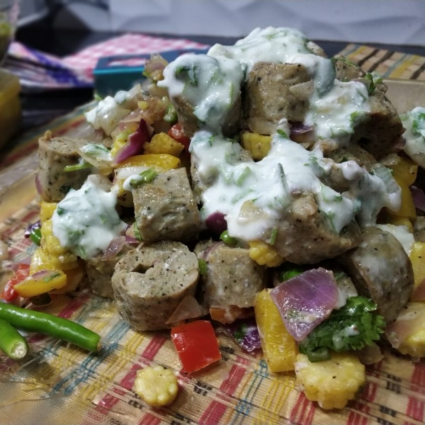 Photo of Greek Seekh Kabab Salad by Sonia Batra at BetterButter