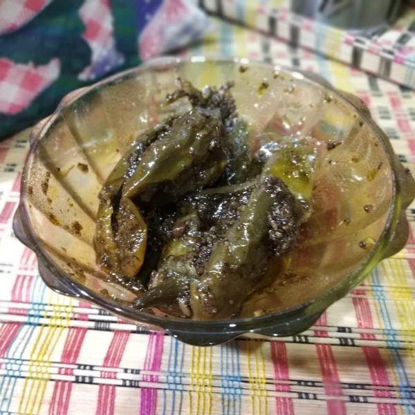 Photo of Bharwa Green Mirchi ka Achar, Stuffed Green Chilli Pickle Recipe by Sonia Batra at BetterButter