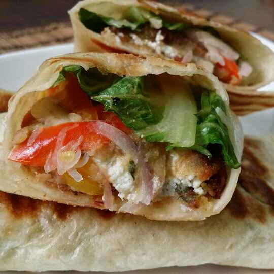 How to make Paneer Wrap