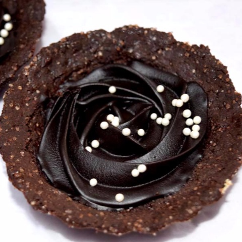 How to make Eggless Chocolate Tart With Honey And Chocolate Filling