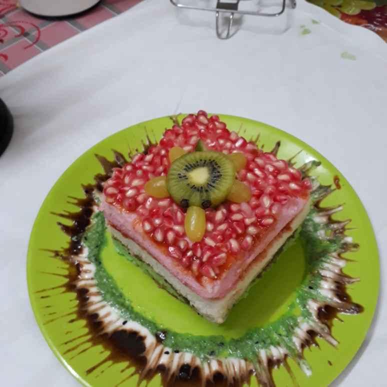 How to make फ्रूटी इडली केक