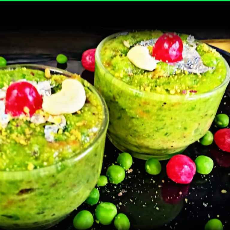 How to make Green Pea Halwa