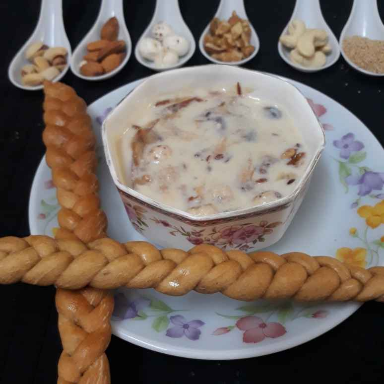 Photo of Royal Soup/ Dry fruit Soup by Sonia Kriplani at BetterButter