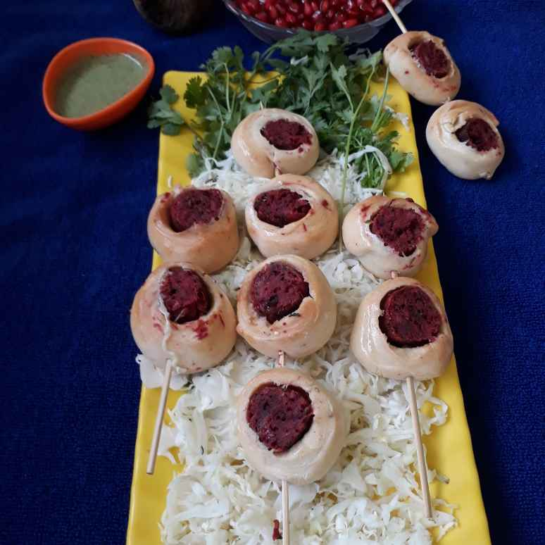 How to make Baked Kabab rolls
