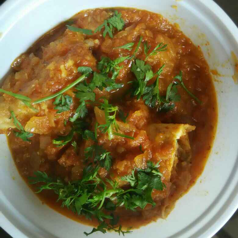 Photo of Cheese Omelette Curry by Sonia Makar at BetterButter