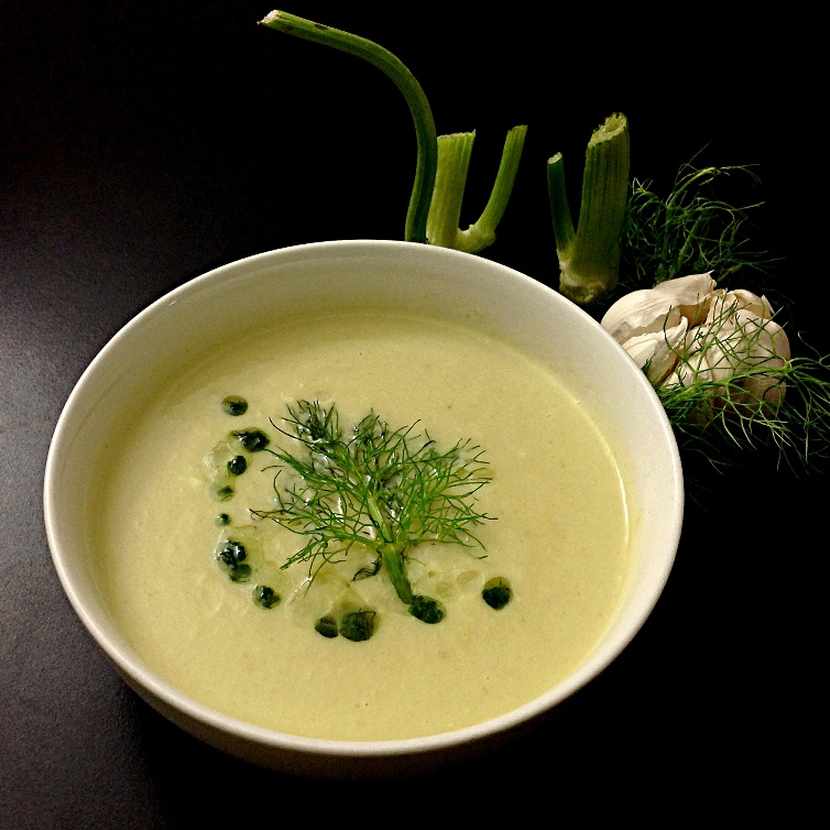 Photo of Fennel Celery & Cauliflower Soup by Sonia Shringarpure at BetterButter