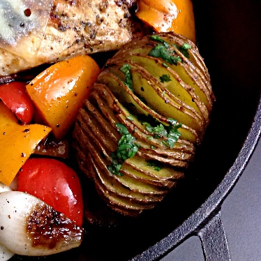 Photo of Hasselback Potato by Sonia Shringarpure at BetterButter