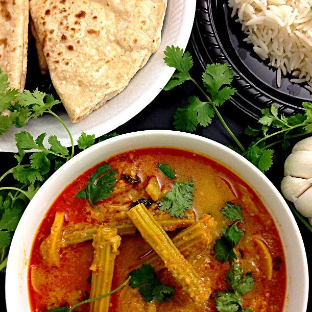 Photo of Sheng Batata Kalvan (Drumbsticks Potato Curry) by Sonia Shringarpure at BetterButter