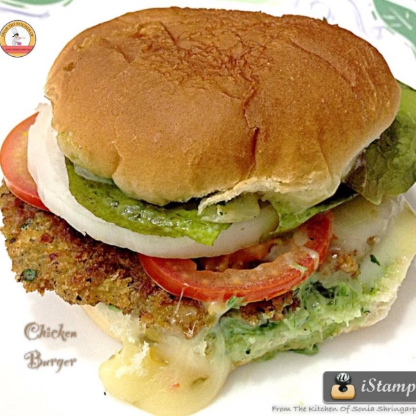 Photo of Chicken Burger by Sonia Shringarpure at BetterButter