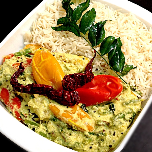 How to make Sweet Peppers & Asparagus Kichadi