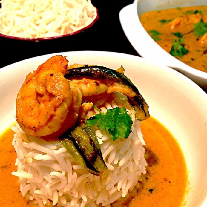 How to make Prawns in Coconut Curry