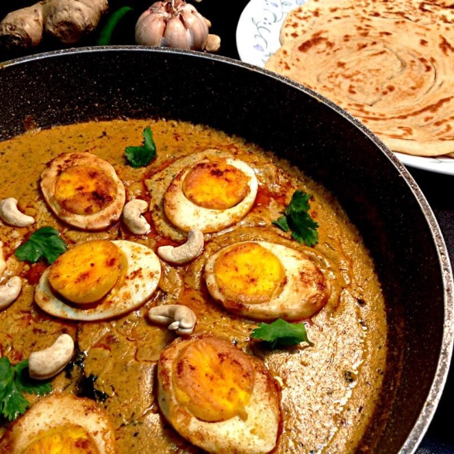How to make Egg korma