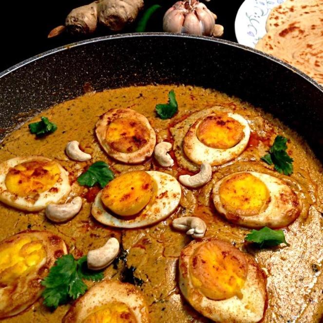 How to make Egg korma