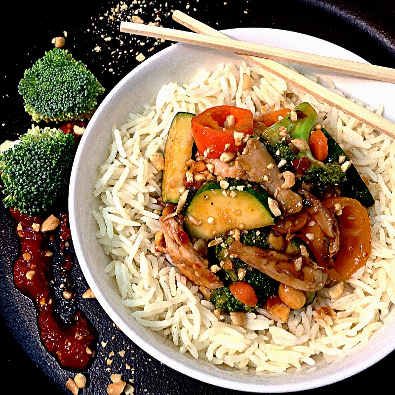 Photo of Chicken Stir Fry with Mixed Vegetables by Sonia Shringarpure at BetterButter