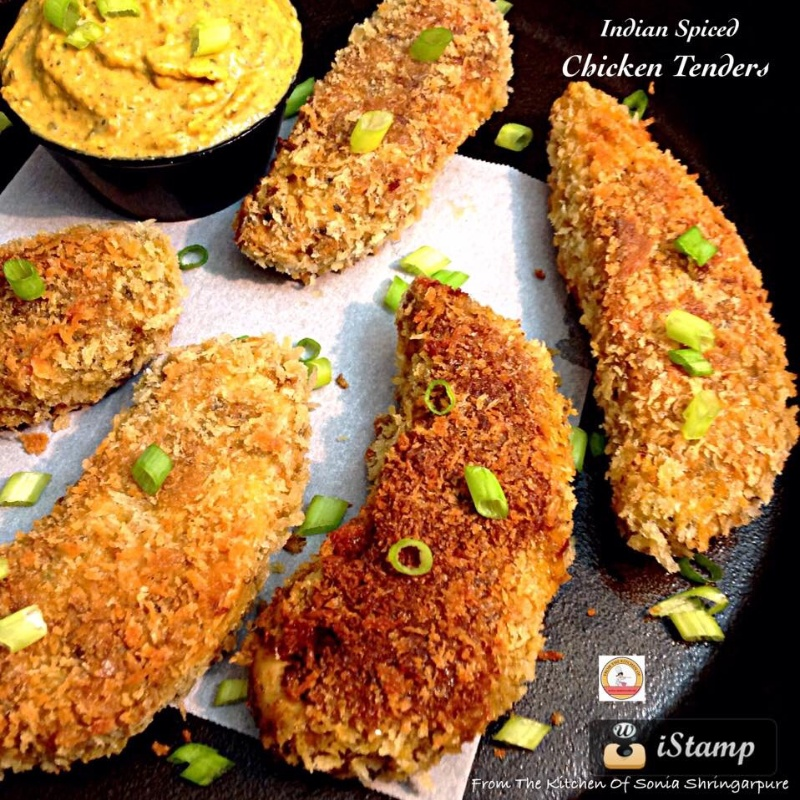 How to make Indian Spiced Chicken Tenders