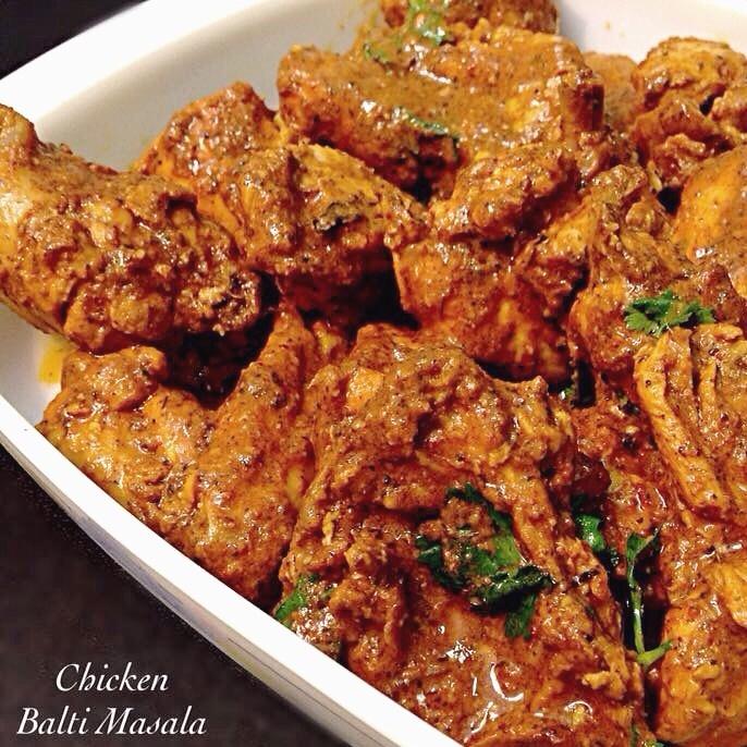 How to make Chicken Balti Masala