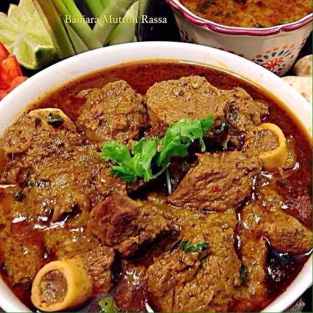 How to make Banjara Mutton Rassa