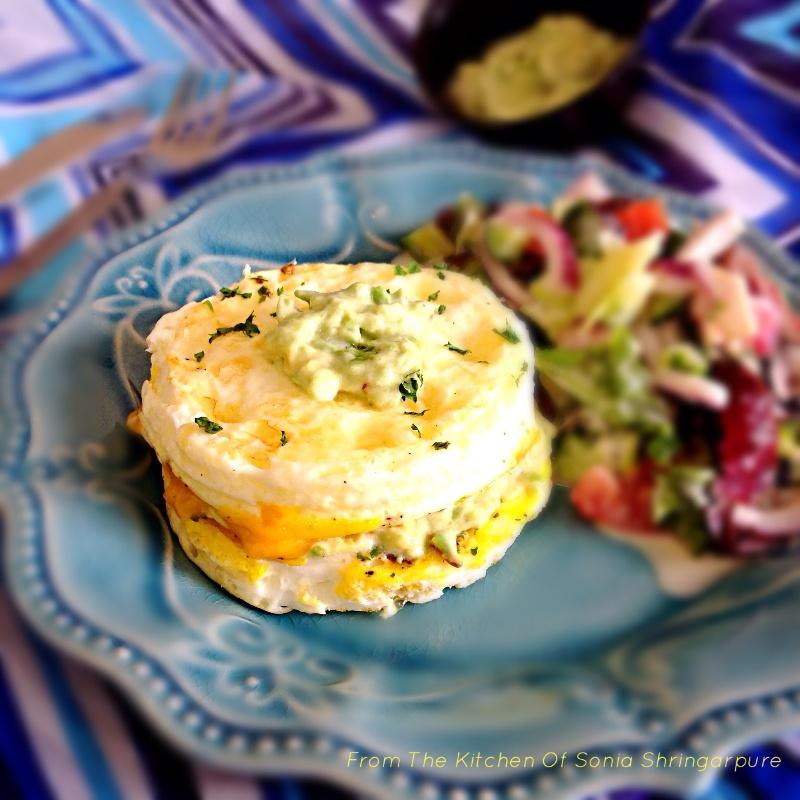Photo of Bunless Egg Burger by Sonia Shringarpure at BetterButter