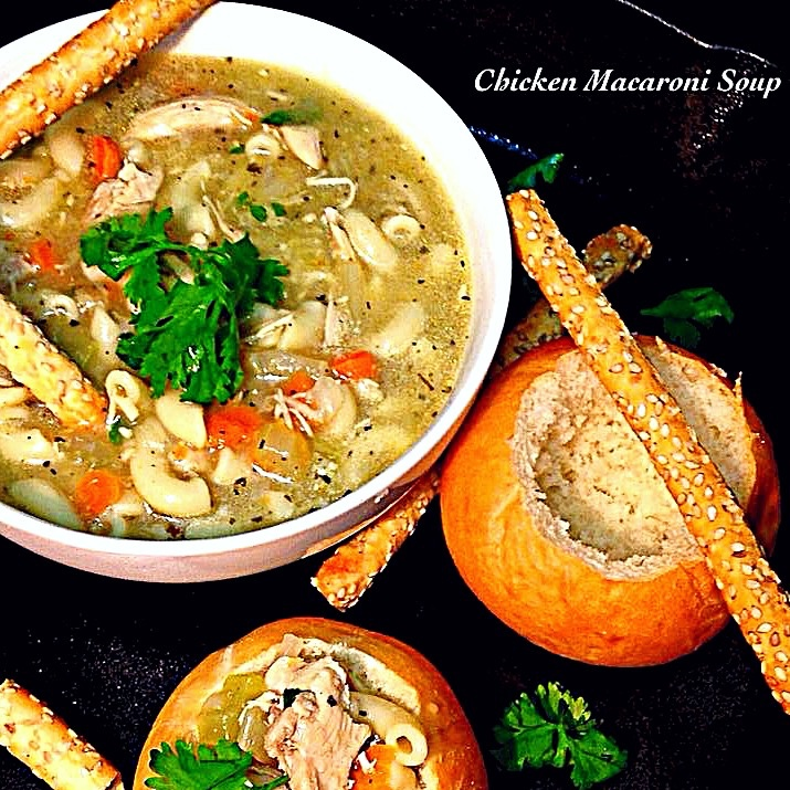 Photo of Chicken Macroni Soup by Sonia Shringarpure at BetterButter