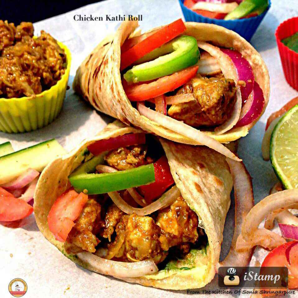 Photo of Chicken Kathi Roll by Sonia Shringarpure at BetterButter