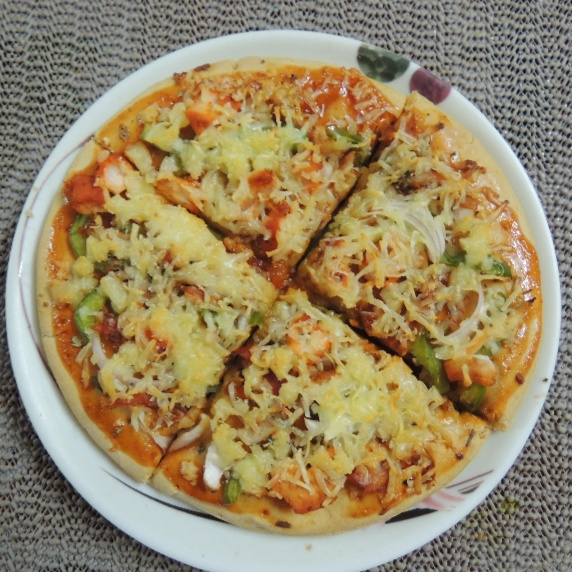 How to make Chicken pizza