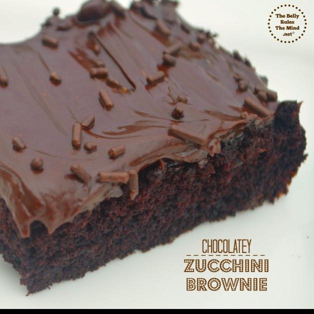 How to make Chocolatey Zucchini Brownies