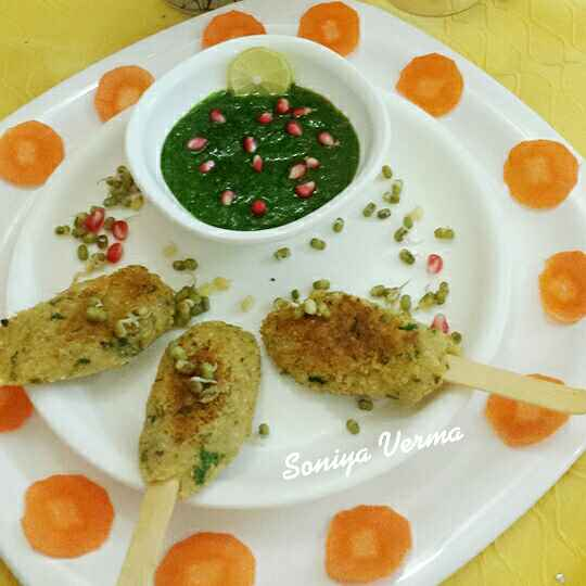 Photo of Sprouts lollipops by Soniya Verma at BetterButter