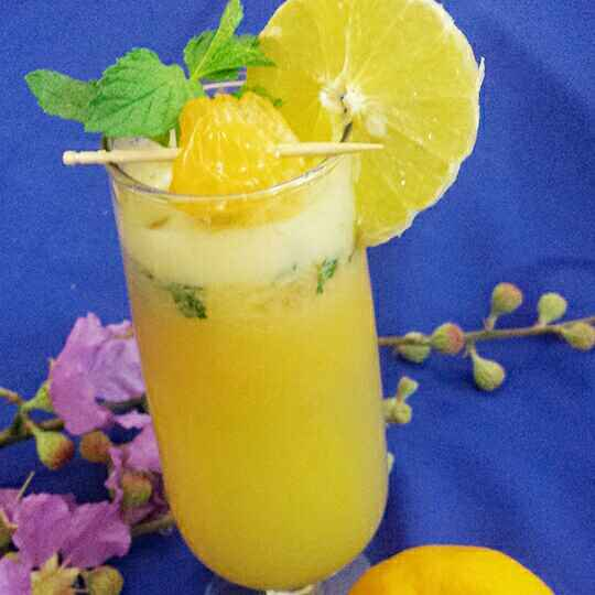 Photo of Orange and sweet lime margarita by Soniya Verma at BetterButter