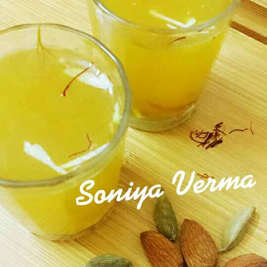 Photo of Royal saffron drink by Soniya Verma at BetterButter