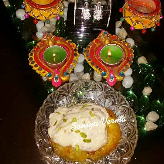 Photo of Apple malpua with bread rabdi by Soniya Verma at BetterButter