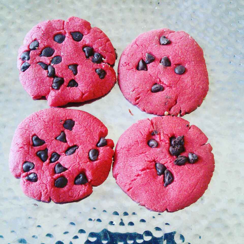 Photo of Red velvet cookie by Sonoo Modani at BetterButter