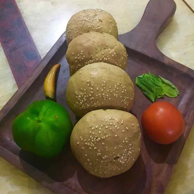 Photo of whole wheat Burger Buns by sonu nawani at BetterButter