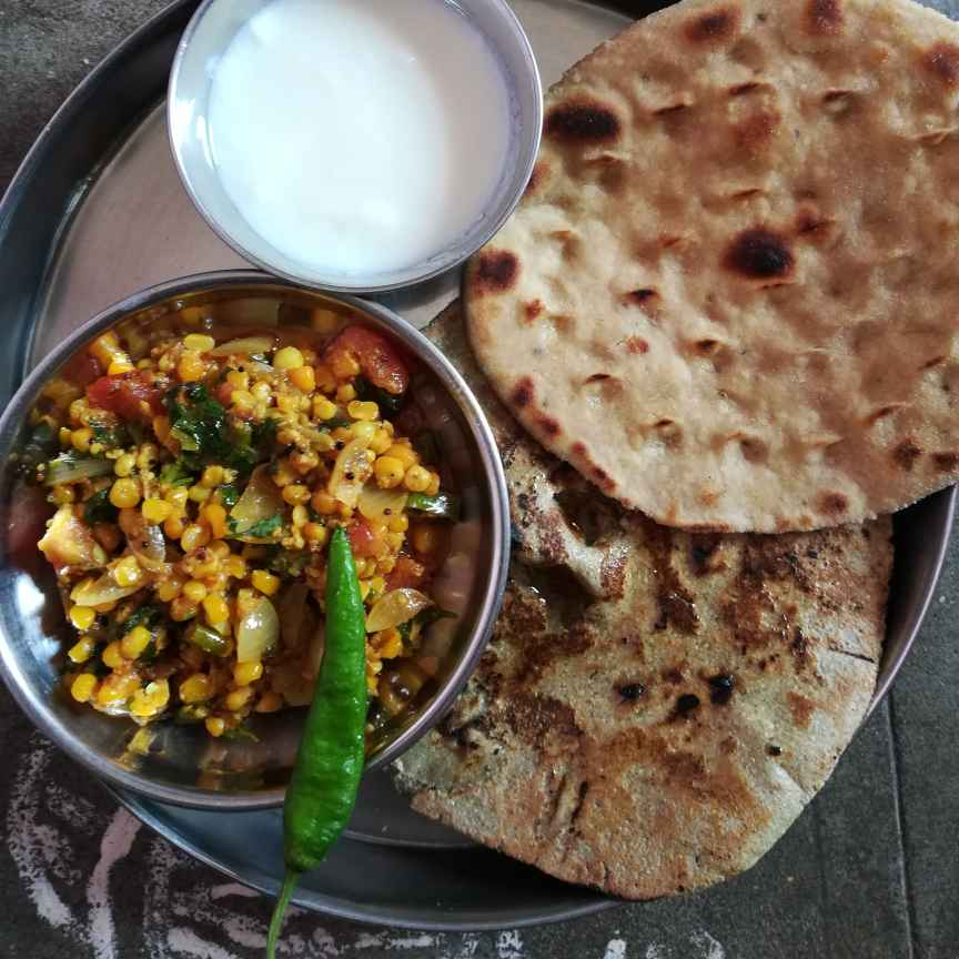 Photo of Corn wid grevy by soniya Sharma at BetterButter