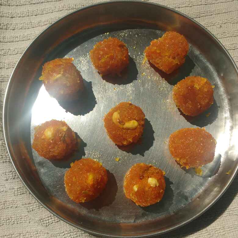 Photo of Coconut Carrot grated Laddu...... by Sony Karthik at BetterButter