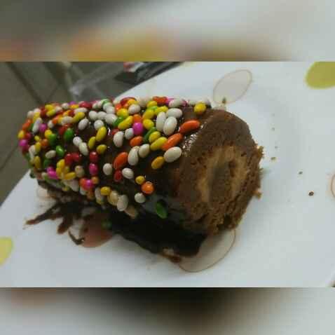 Photo of Choco Peanut Butter Swiss Roll by Soumi Sarkar at BetterButter