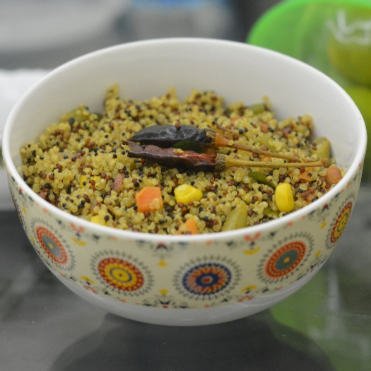 How to make Lemon Quinoa with Vegetables